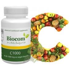 Biocom Vitamina C1000 Capsule 60buc