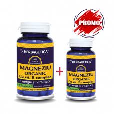 Magneziu Organic 60+10cps
