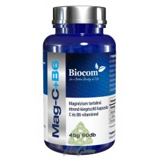 Magneziu C + B6 90 capsule