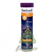 Tablete efervescente Sambucol 15 buc