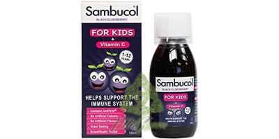 Sirop din fructe de soc pentru copii 250ml Sambucol